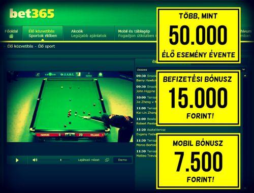 bet365 - reklám