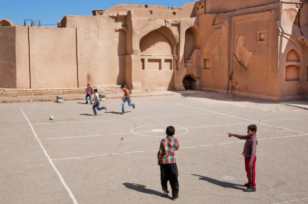 Irán futball