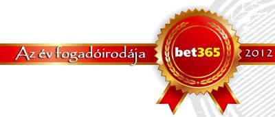 bet365 az év fogadóirodája 2012-ben