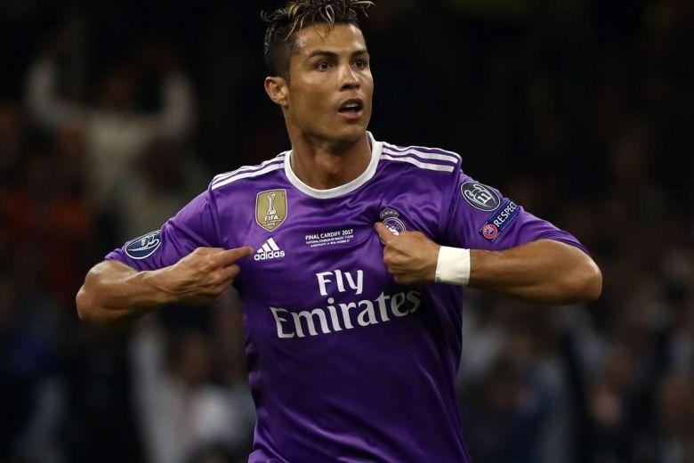 Cristiano Ronaldo (Fotó: Chris Ricco / Shutterstock.com)