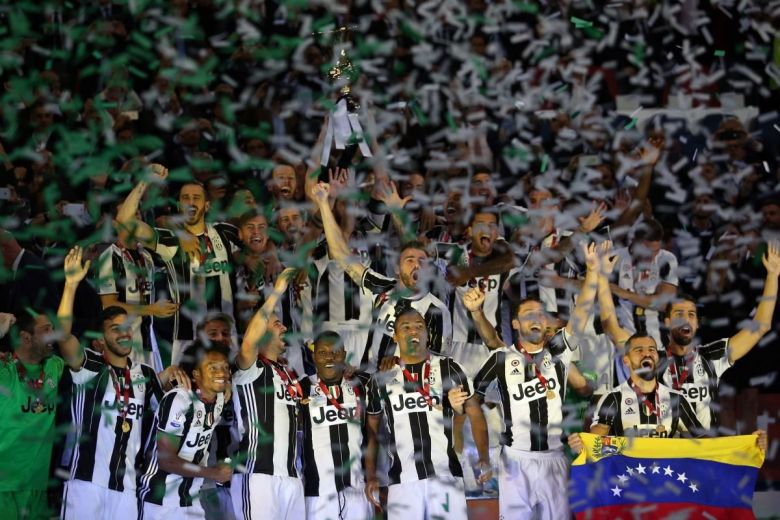 Juventus csapatának sikere (Fotó: Marco Iacobucci EPP / Shutterstock.com)