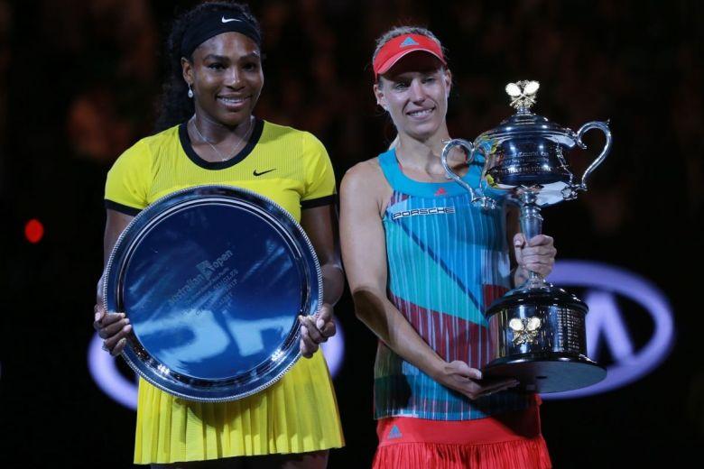 Serena Williams és Angelique Kerber (Fotó: Leonard Zhukovsky / Shutterstock.com)