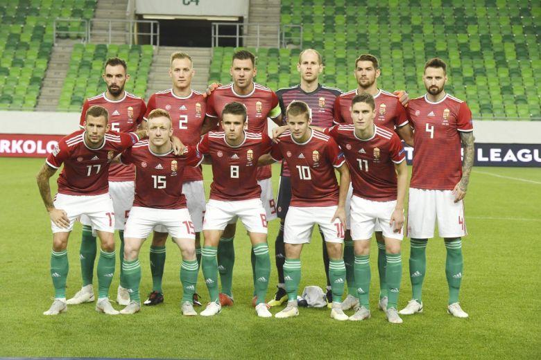 A magyar csapat. MTI Fotó: Koszticsák Szilárd
