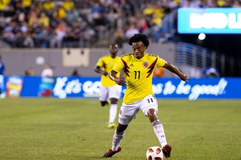 Juan Guillermo Cuadrado (Fotó: lev radin / Shutterstock.com)