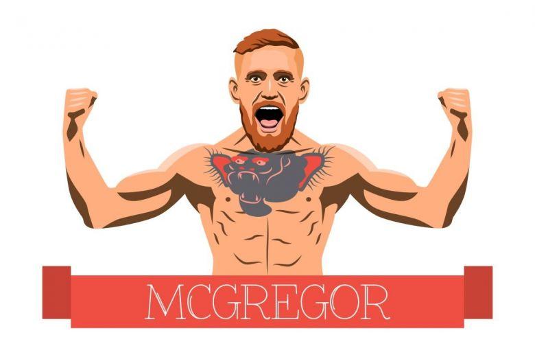 Conor McGregor (Fotó: aisvector / Shutterstock.com)