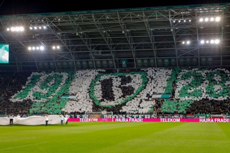 Ferencváros szurkolók (Fotó: Laszlo Szirtesi / Shutterstock.com)