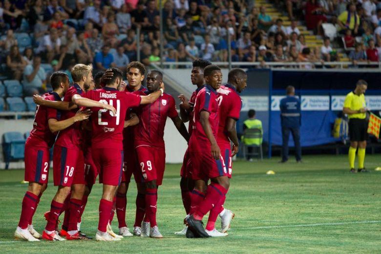 Girondins De Bordeaux játékosok (Fotó: A_Lesik / Shutterstock.com)