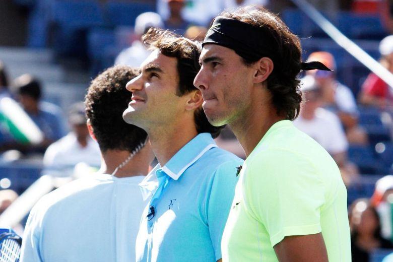 Roger Federer és Rafael Nadal (Fotó: Debby Wong / Shutterstock.com)