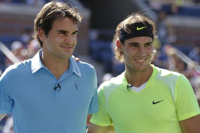 Roger Federer és Rafael Nadal (Fotó: lev radin / Shutterstock.com)