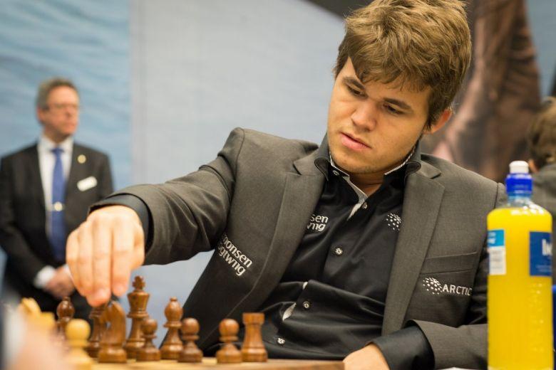 Magnus Carlsen. Fotó: Frans Peeters - Flickr