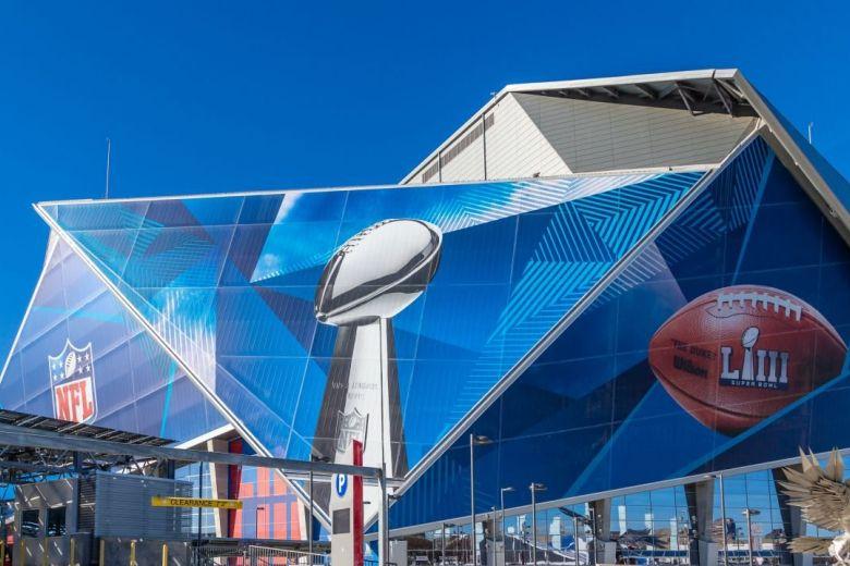 Az 53. Super Bowl színhelye az atlantai Mercedes-Benz Stadion (Fotó: Darryl Brooks / Shutterstock.com)
