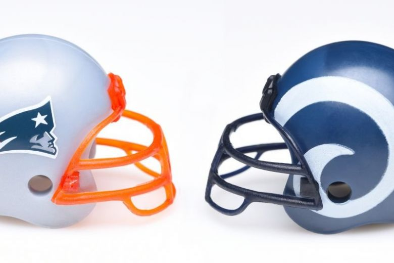 New England Patriots - Los Angeles Rams az 53. Super Bowl csapatai (Fotó: LunaseeStudios / Shutterstock.com)