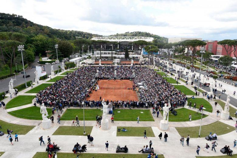 A római Masters-torna (Fotó: FRANCESCO PANUNZIO / Shutterstock.com)