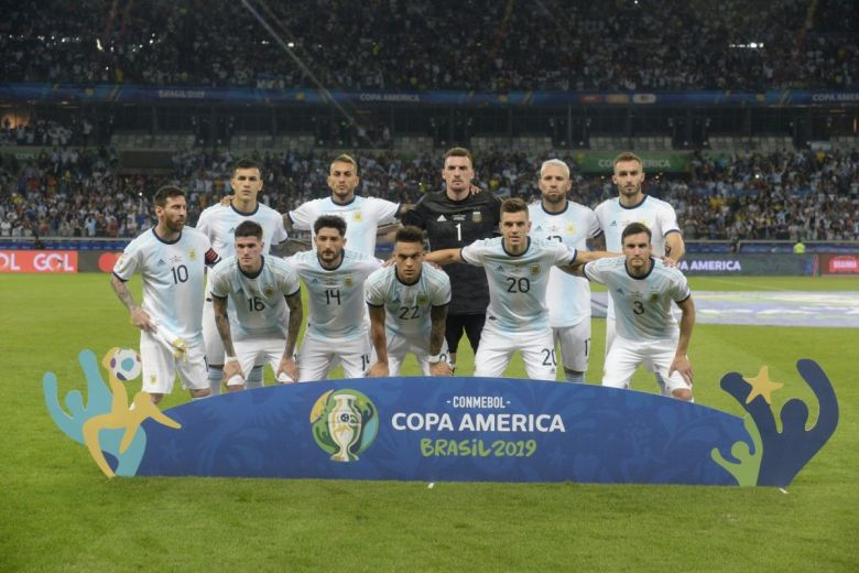 Argentina válogatottja a Copa América tornán (Fotó: A.RICARDO / Shutterstock.com)