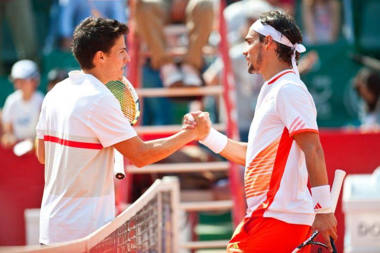 Balázs Attila és Fabio Fognini (Fotó: PhotoStock10 / Shutterstock.com)