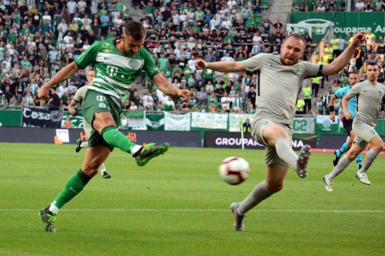 Részlet a Ferencváros - Ludogorets Razgrad BL-selejtezőből (Fotó: Dariusz Grochal / Shutterstock.com)