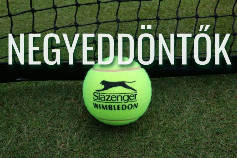 A Wimbledonon használt Slazenger teniszlabda (Fotó: Leonard Zhukovsky / Shutterstock.com)