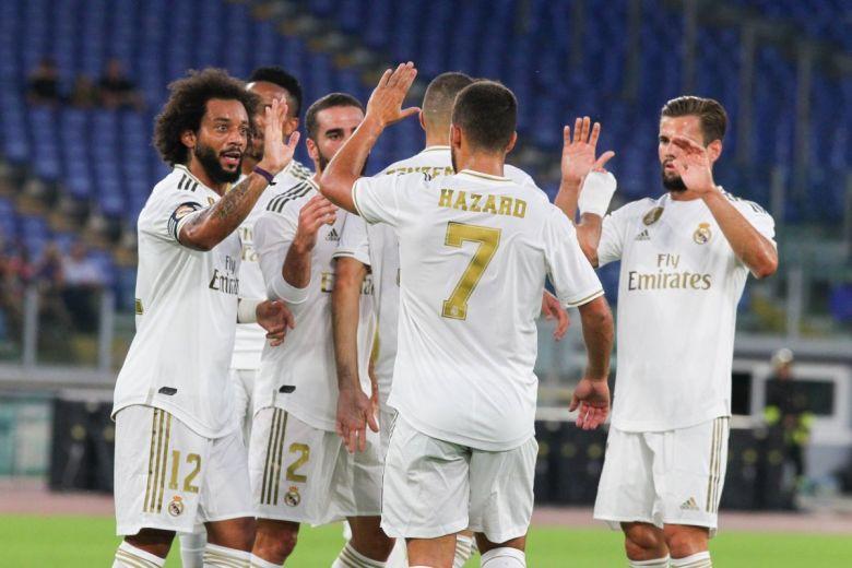 Real Madrid játékosok (Fotó: bestino / Shutterstock.com)