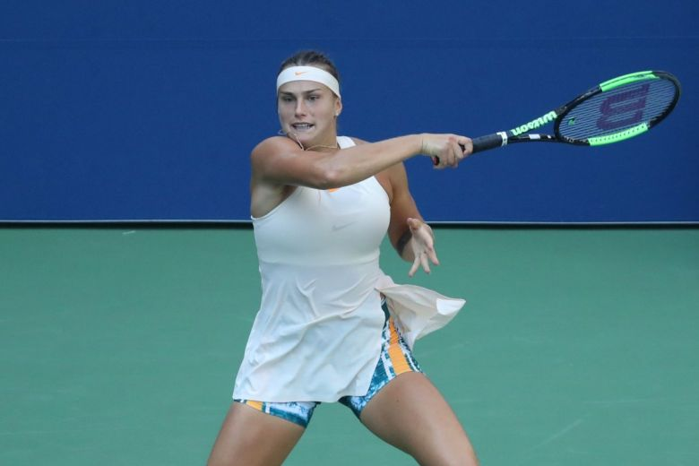 Aryna Sabalenka (Fotó: Leonard Zhukovsky / Shutterstock.com)