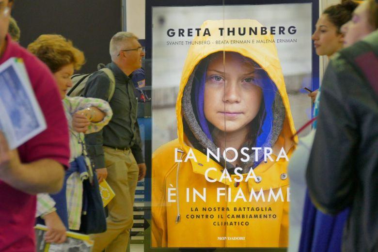 Greta Thunberg. Fotó: Antonello Marangi / Shutterstock.com