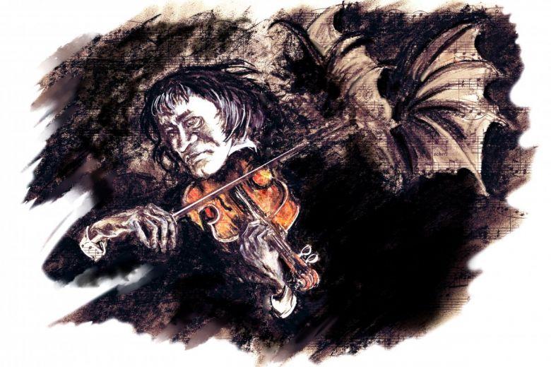 Niccolo Paganini. Fotó: shutterstock.com