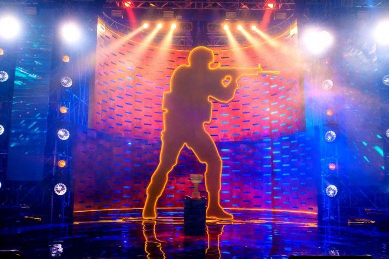 Counter-Strike: Global Offensive esemény színpadi részlete (Fotó: Roman Kosolapov / Shutterstock.com)