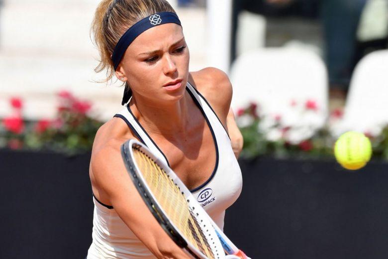 Camila Giorgi (Fotó: FRANCESCO PANUNZIO / Shutterstock.com)