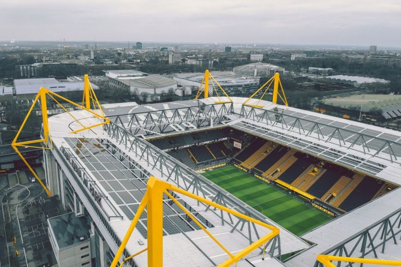 Westfalenstadion, a Borussia Dortmund otthona (Fotó: taranchic / Shutterstock.com)