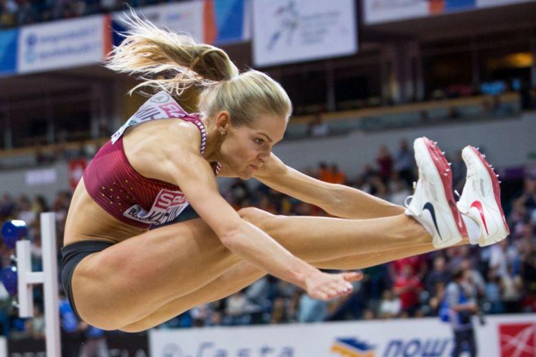 Darya Klishina (Fotó: Aleksandar Kamasi / Shutterstock.com)