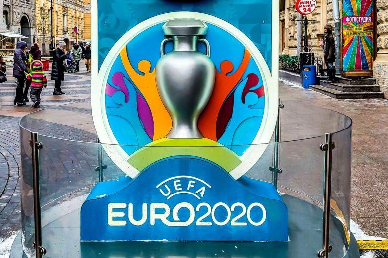 2020-as Labdarúgó-Európa-bajnokság címere (Fotó: Zabotnova Inna / Shutterstock.com)
