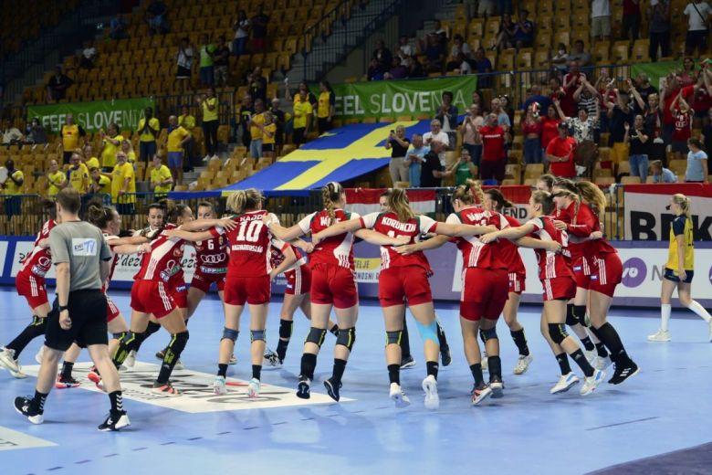 U19 Magyar kézilabda válogatott. (fotó: EHF)