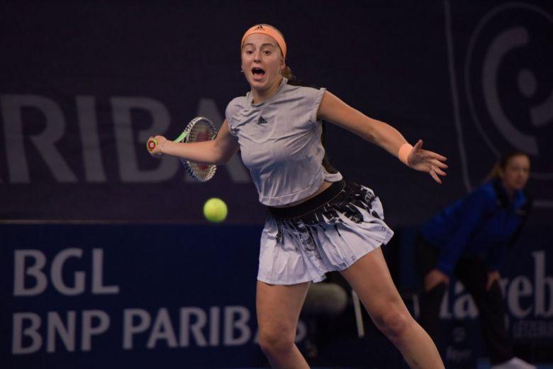 Jelena Ostapenko (Fotó: Janet McIntyre / Shutterstock.com)