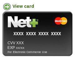 Net+ virtuális mastercard